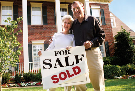 moving, downsizing, couple, home, finance
