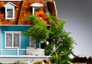 home, destruction, house,