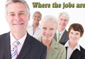 Retirees, jobs, workers, aging, men, women