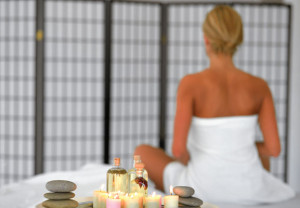 Spa, health, woman, massage, beauty