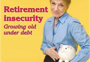 Woman, piggy bank, retirement, finance, money