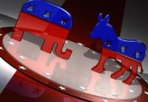 Political, democrat, republican, animal, party symbols