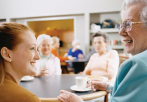 nursing home, assisted living, elderly, woman,