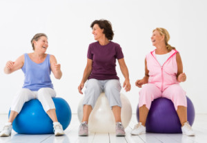 health, medical, group, women, exercise, ball