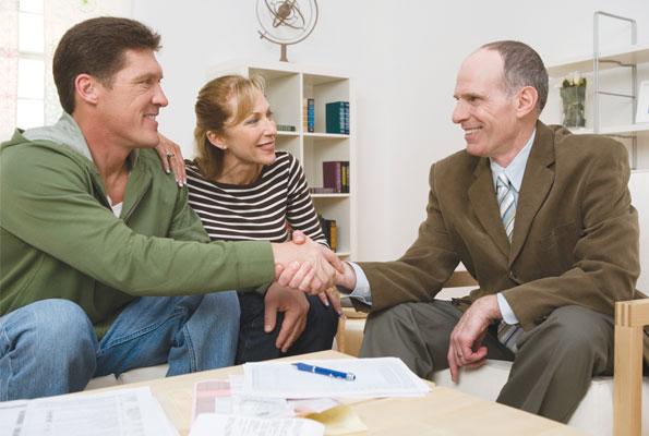 Finance, money, couple, meeting, advisor