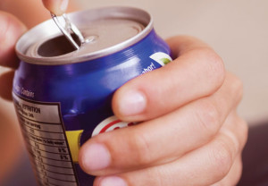 Health, soda, can