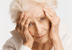 elderly, woman, depressed, sad, dementia, Alzheimer's