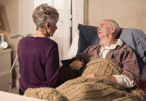 Couple, caregiver, caregiving, illness, sick