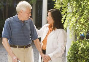 elderly, man, aide, home care, nursing home, assisted living