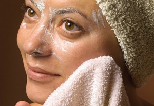exfoliating, health, beauty, face, woman, spa