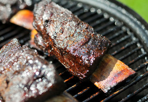 Short Ribs, grilling, meat