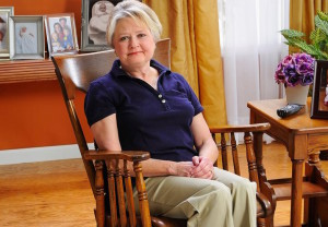 Woman, rocking chair, home, care, caregiver, caregiving