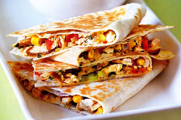 Quesadillas: A quick week night meal using leftovers - Fifty Plus Life