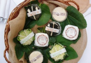 Wrapped cheeses