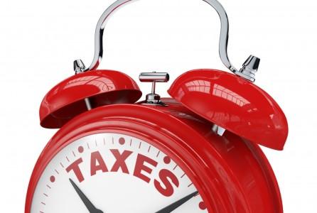 Taxes Alarm Clock