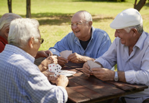 elderly, men, centenarians