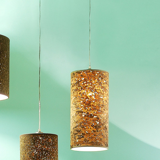 Spring cleaning a chance to update d cor trends fifty for Wine cork lampshade