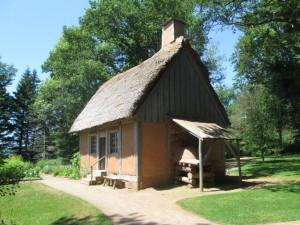 Acadian house, Historic Gardens