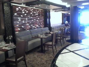 Inside the Kai Sushi restaurant