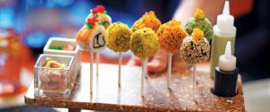 Sushi Lollipops