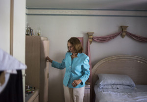PACE, a program to help keep older people out of nursing homes, allows Vivian Malveaux, 81, to live at home in Denver. InnovAge, which runs her program, converted to a for-profit company last year. (Nick Cote for The New York Times and Kaiser Health News)
