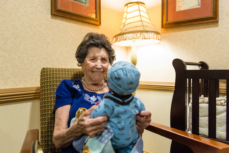When Pretend Play Is Real For Alzheimer S Patients Fifty
