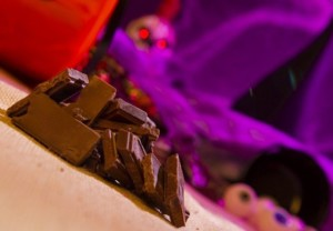 chocolate, dark, candy