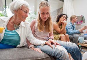 family, grandparent, generational