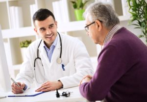 man doctor health elder male