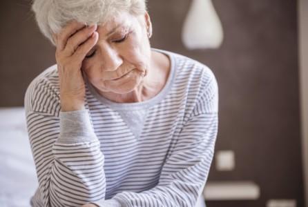 woman female sad depressed upset