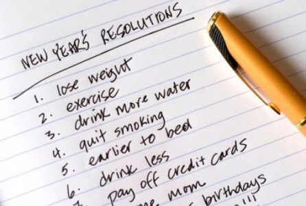 New Year, resolution, list, New Year's