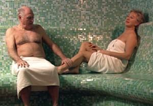 Sauna,  couple, spa