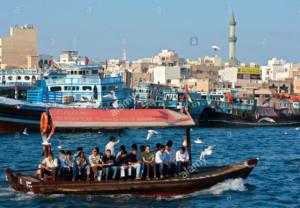 abra-ferry-on-the-creek-in-old-dubai-in-united-arab-emirates-CBR468