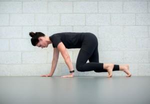 female yoga exercise health