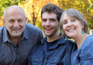 Renzo Viscardi (center), pictured with his parents Anthony Viscardi and Cheryl Dougan, relies on round-the-clock care from home health aides. (Courtesy of Cheryl Dougan)