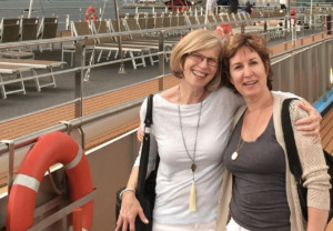 Laurie and Lisa