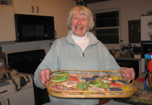 Anne McKinley battles a host of health issues and, four years ago, lost her husband after 59 years of marriage. Yet she remains positive, active and thrives on time spent with family and friends. Baking and eating cookies with her grandchildren is a highlight, she says. (Courtesy of Carol McKinley)