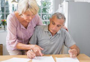 couple, paperwork, finance copy