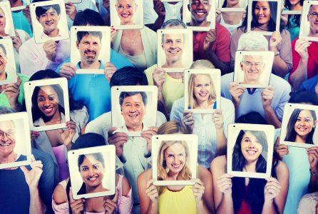 crowd, portrait, aging, identity,