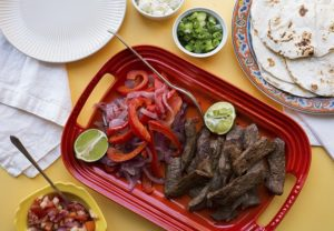 Fajitas, recipe, food