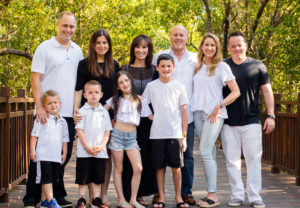 Mindy husband,daughters, sons in law, grandchildren
