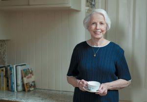 woman, home, tea, elderly jpg