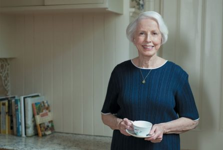 woman, home, tea, elderly jpg