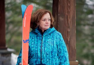 Sarah Witter fractured two bones in her lower left leg while skiing in Vermont last February. She ended up having two operations, totaling nearly $100,000 — the second to replace a plate that broke after the first surgery, through no fault of Witter's. (Matt Baldelli for KHN)