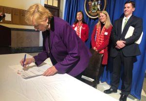 Housing Bond Bill Signing