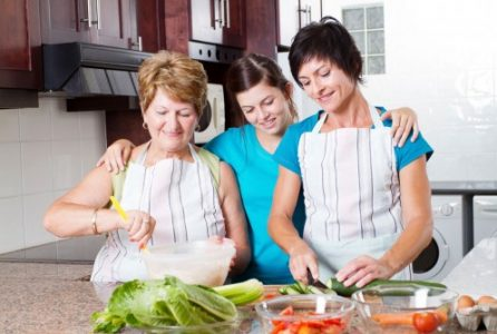 diet, cooking, health, generations, cooking