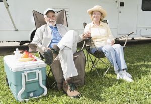 RV camping travel