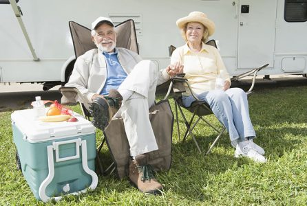 RV camping travel
